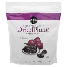 Publix Plums, Dried