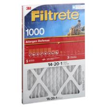 3m Filtrete Air Cleaning Filter, Micro Allergen Reduction 14x20x1