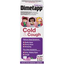 Dimetapp Children's Cold & Cough, Grape Flavor