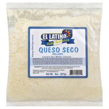 El Latino Cheese, Grated, Queso Seco