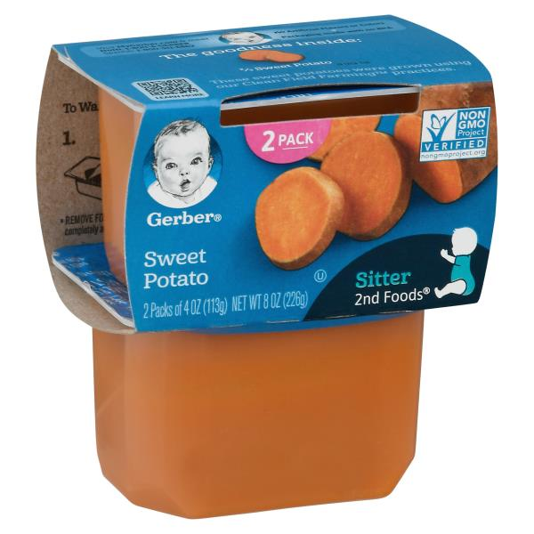 Gerber 2nd Foods Sweet Potato, Sitter