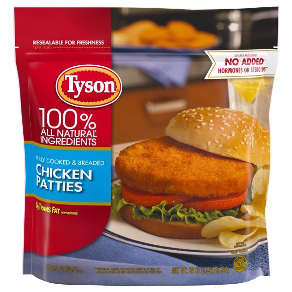 Tyson Chicken Patties