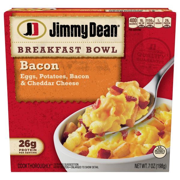 Jimmy Dean Breakfast Bowl, Bacon
