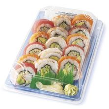 Sushi Rainbow Roll, Ready to Eat