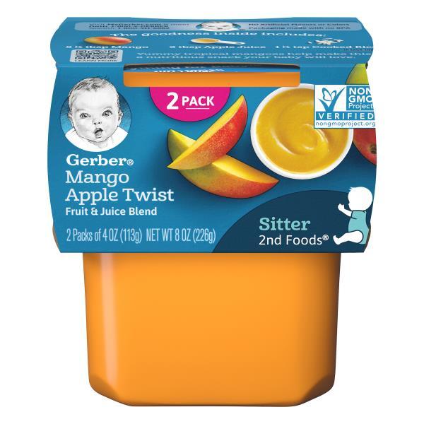 Gerber 2nd Foods Mango Apple Twist