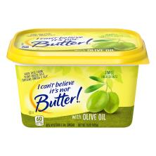 I Cant Believe Its Not Butter Vegetable Oil Spread, 45%, Olive Oil