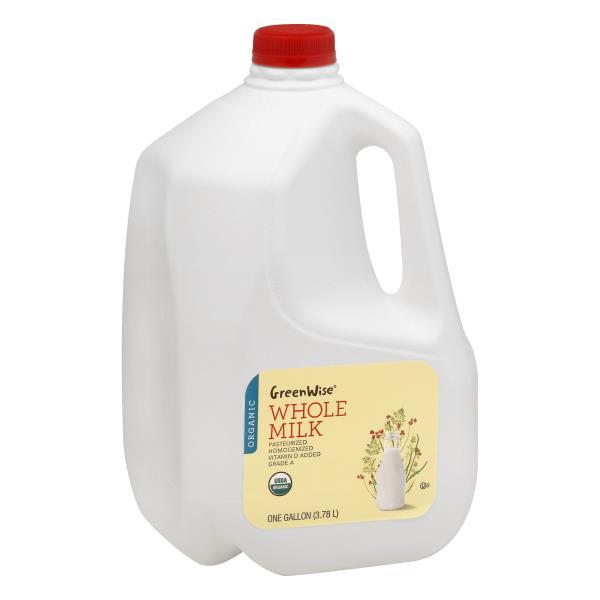 GreenWise Milk, Whole, Organic