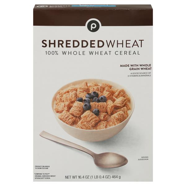 Publix Wheat Cereal, 100% Whole, Shredded Wheat : Publix com