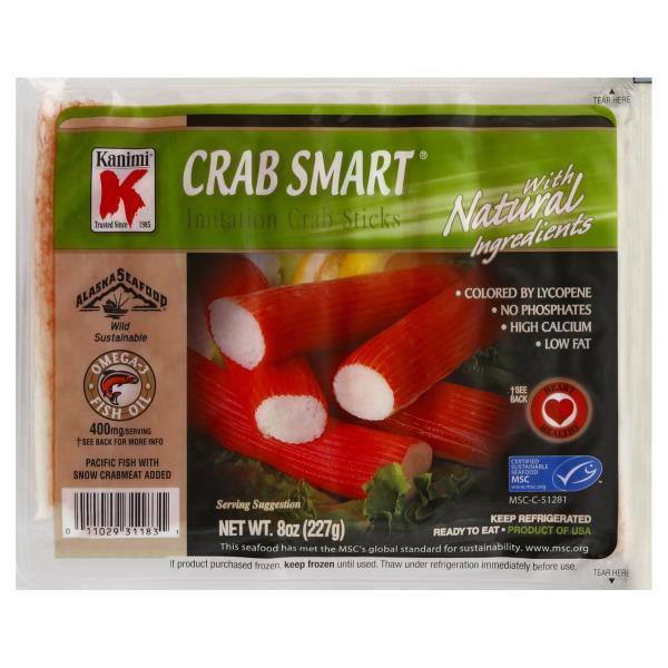 Kanimi Crab Sticks, Imitation