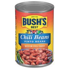Bushs Best Chili Beans, Medium Sauce