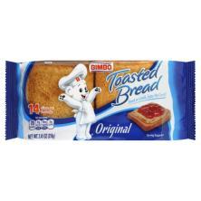 Bimbo Toasted Bread, Original
