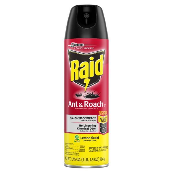 Raid Ant & Roach Killer 17, Lemon Scent