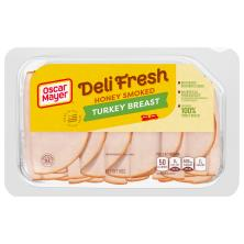 Oscar Mayer Deli Fresh Turkey Breast, Honey Smoked