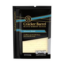 Cracker Barrel Cheese, Slices, Havarti