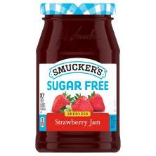 Smuckers Sugar Free Jam, Seedless Strawberry
