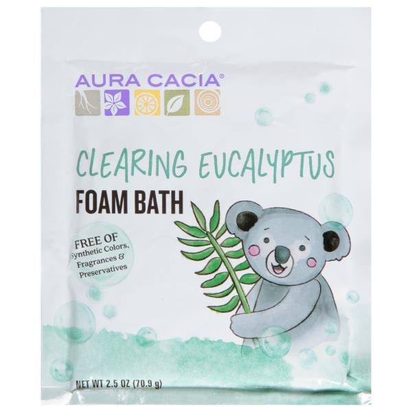 Aura Cacia Foam Bath, Clearing, Eucalyptus Essential Oil