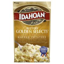 Idahoan Mashed Potatoes, Buttery Golden Selects