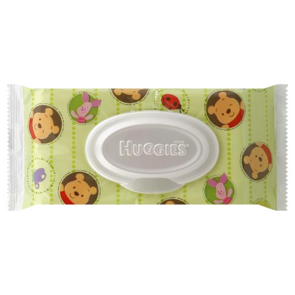 Huggies Natural Care Baby Wipes, Alcohol Free, Winnie the Pooh