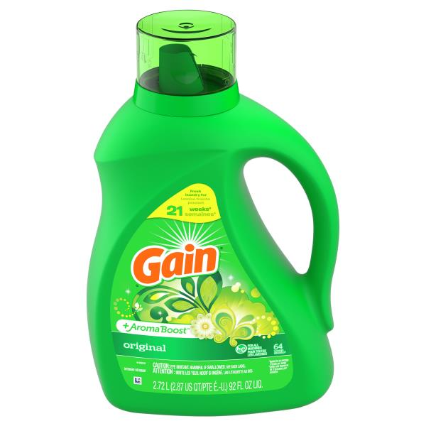 Gain Detergent, Original