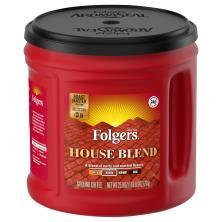 Folgers Coffee, Ground, Medium, House Blend
