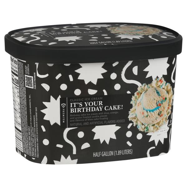 Publix Premium Ice Cream Its Your Birthday Cake