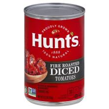 Hunts Tomatoes, Fire Roasted, Diced