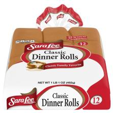 Sara Lee Dinner Rolls, Classic