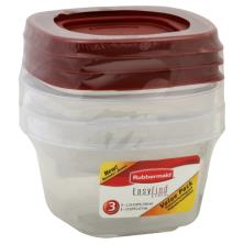 Rubbermaid Easy Find Lids Containers, Value Pack
