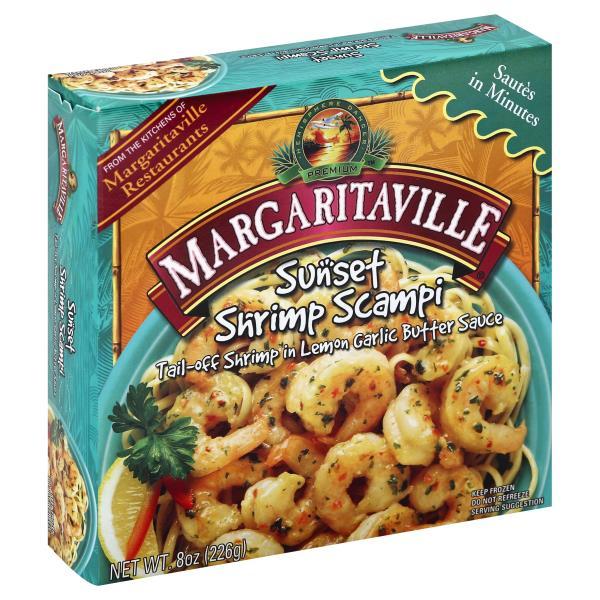 Margaritaville Shrimp Scampi, Sunset