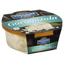 Treasure Cave Cheese, Crumbled, Gorgonzola