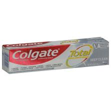 Colgate Total Toothpaste, Anticavity Fluoride and Antigingivitis, Paste
