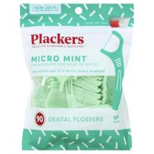Plackers Dental Flossers, Micro Mint