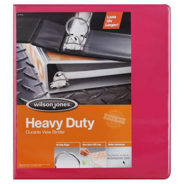 wilson jones view binder durable view heavy duty 1 inch publix com