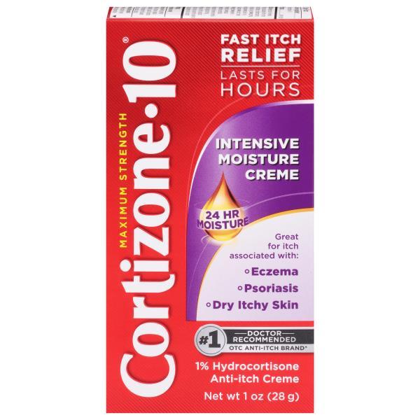 Cortizone 10 Anti-Itch Creme, Maximum Strength, Intensive Healing Formula