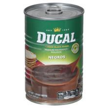 Ducal Refried Beans, Black