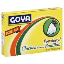 Goya Bouillon, Powdered, Chicken Flavored, Econo Pak