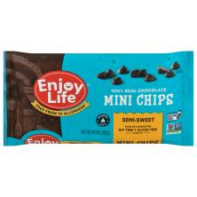 Enjoy Life Chocolate Chips, Semi-Sweet, Mini