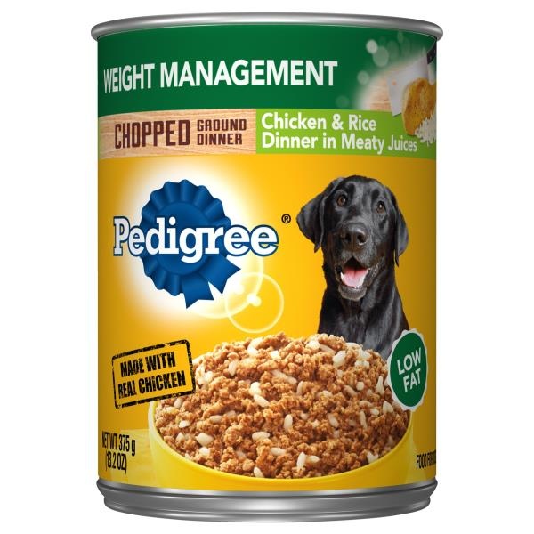 Pedigree Canned Food Calories