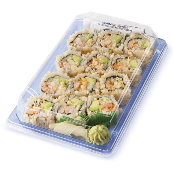 Sushi Crunchy Shrimp Roll, Brown Rice, Ready to Eat