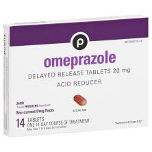 Publix Omeprazole, 20 mg, Delayed Release Tablets