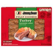 Jimmy Dean Sausage, Turkey, Links