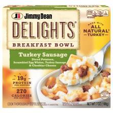 Jimmy Dean Delights Breakfast Bowl, Turkey Sausage
