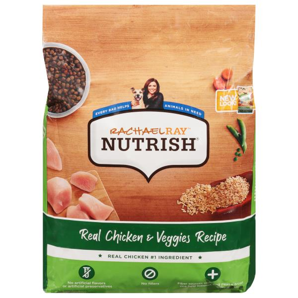 Rachael Ray Nutrish Food For Dogs Real Chicken Veggies Recipe
