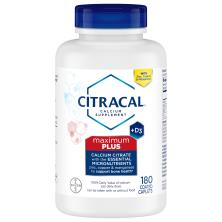 Citracal Calcium Citrate + D3, Maximum, Coated Caplets