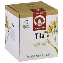 Carmencita Tea, Herbal Lindon Flower