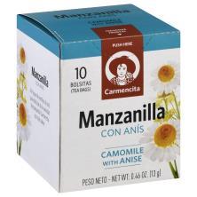 Carmencita Tea, Chamom.W/Anise