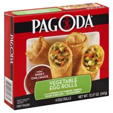 Pagoda Egg Rolls, Vegetable