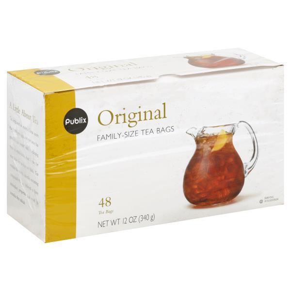 Publix Tea Original Family Size Bags