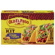 Old El Paso Taco Dinner Kit, Stand 'n Stuff