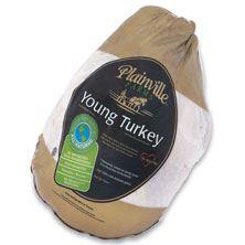 Plainville Whole Turkey 22-24 Pounds, Raised Without Antibiotics